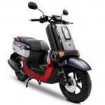 Yamaha QBIX รุ่น S สีเทา-แดง