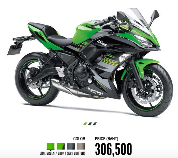 Kawasaki i Ninja 650 ABS โปรโมชั่น