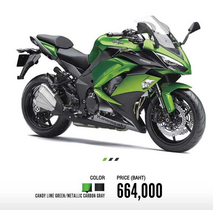 Kawasaki Ninja1000 Promotion