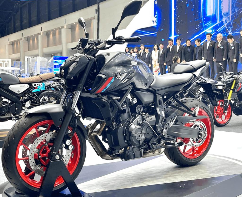 Yamaha MT07 2021